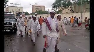 Sant Dnyaneshwar Maharaj Palkhi 2018 at R&D Vishrantwadi Pune | Varkari's following palkhi |