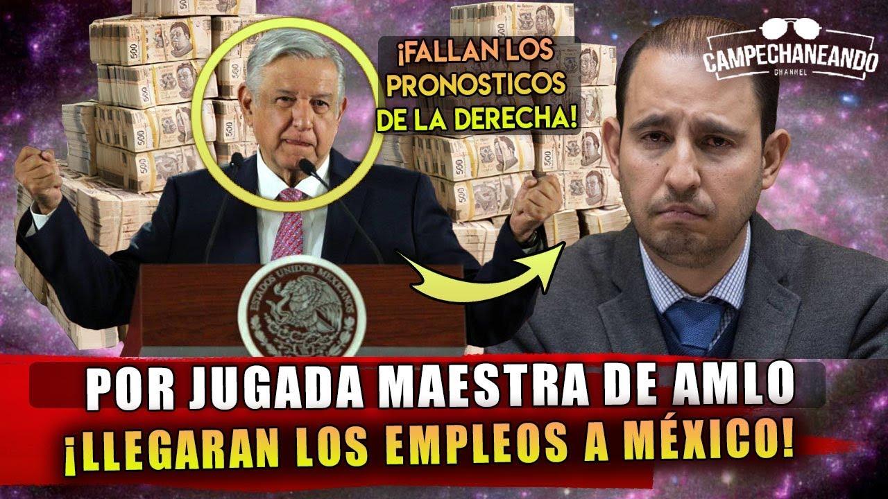 HACE MOMENTOS! POR JUGADA MAESTRA DE AMLO ¡YA LLEGAN LOS EMPLEOS A MÉXICO!