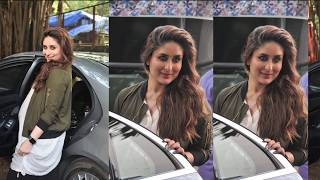 Repeat youtube video Kareena Kapoor BIG Baby Bump Show During Photoshoot