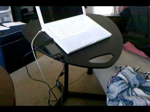 Review of DAVE the laptop desk from IKEA  YouTube