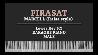 Download lagu Firasat (MALE KEY KARAOKE PIANO COVER) Marcell (In Raisa Style)
