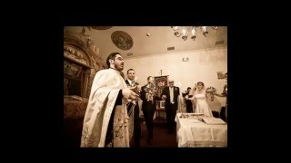 Codruta and Alin Wedding St Nicholas Romanian Orthodox Church Queens NY photography by Arp ...