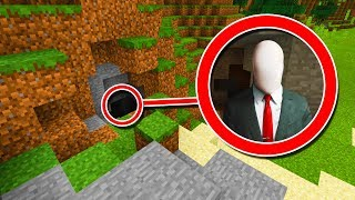 Minecraft PE : I FOUND SLENDERMAN'S *SECRET* BASE!