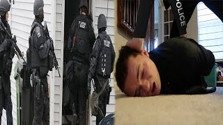 I GOT ATTACKED BY THE SWAT TEAM! (SWATTED)