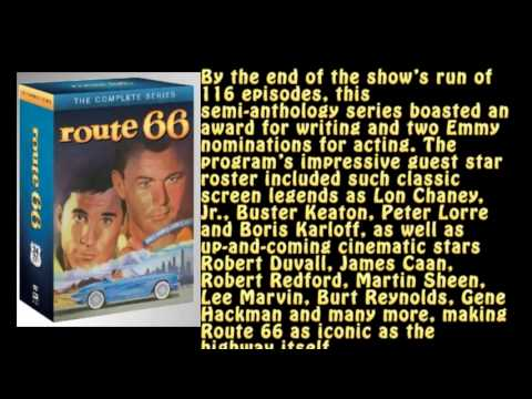 Fun and Drama Route 66 DVD Series