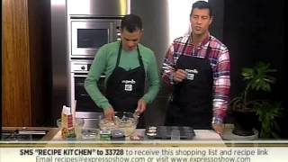 Recipe - Recipe Kitchen - Spinach And Feta And Bacon Muffin (9 June 2014)