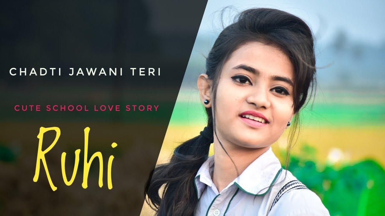 Chadti Jawani Teri || Cute Love Story || Tik Tok Viral Song 2019 || Ft.Ruhi&Saikat