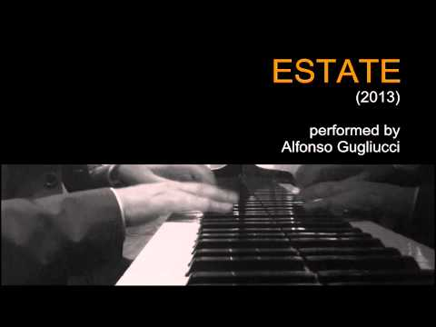 ESTATE (2013)  jazz piano improvisation