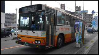 [Bus Sound]伊予鉄バス2140号車【日野ブルーリボン KC-HT2MLCA|走行音】