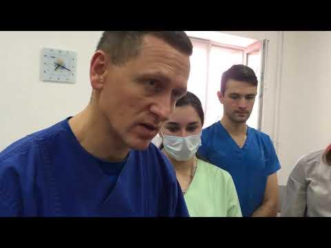 Дренирование напряжённого пневмоторакса у новорождённого
