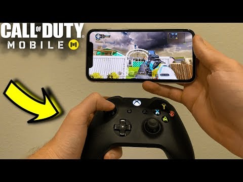 How To Play Call Of Duty Mobile With A Controller (iPhone And Android)