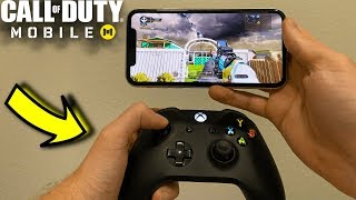 How to Play Call of Duty Mobile with a Controller (iPhone) (Android Soon)