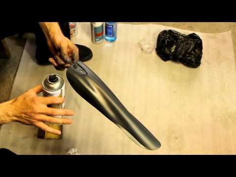 Как покрасить брызговики