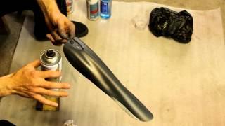 Покраска пластика баллончиком(Доброго времени всем! Ранее я выкладывал пост с покраской хвостовика, в котором упустил сам процесс покраск..., 2014-04-18T11:50:57.000Z)