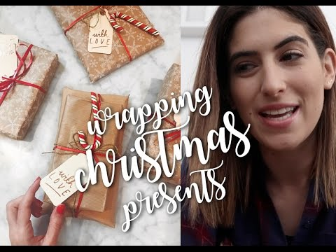 WRAPPING CHRISTMAS PRESENTS | Lily Pebbles Vlogmas