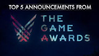 Top 5 Announcements from The Game Awards 2018