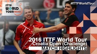 2016 Croatia Open Highlights: Jung Youngsik/Lee Sangsu vs Patrick Franziska/Jonathan Groth (Final)(Review all the highlights from the Jung Youngsik/Lee Sangsu vs Patrick Franziska/Jonathan Groth (Final) from the 2016 Croatia Open Subscribe here for more ..., 2016-05-28T17:46:00.000Z)