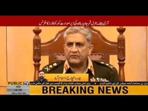 COAS General Qamar Javed Bajwa chairs CCC at GHQ, Geo-strategic, LOC situation discussed
