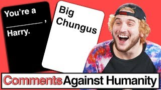 One Word Answers ONLY!! | Comments Against Humanity
