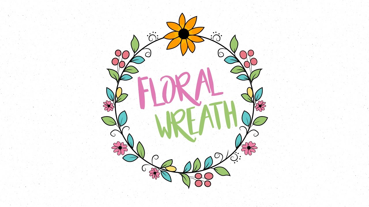 how to create floral design in illustrator