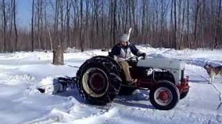 Check out my antique iron Ford 2N Tractor!