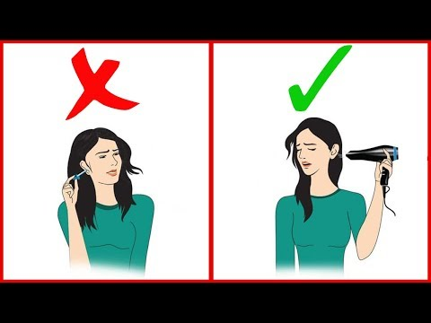 How to Get Water Out of Your Ear   Unclog ears  ear pain   ear is clogged   Home remedies  