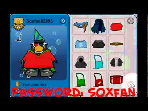 club penguin account with membership