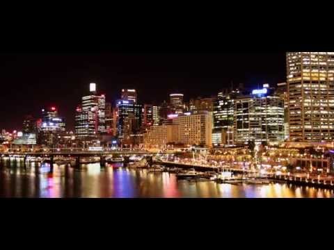 Australia Travel. Sydney. Amazing day to night time-lapse.