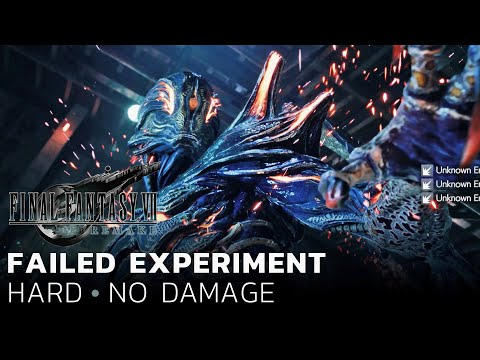 Final Fantasy VII Remake – Failed Experiment (Hard/No Damage)