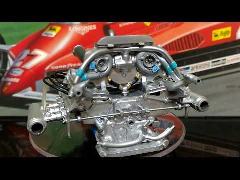 PROTAR Ferrari V6 KKK Turbo Engine Metal Kit