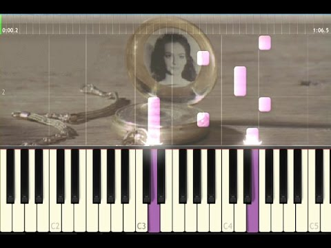 Ennio Morricone - Musical pocketwatch (piano tutorial) [synthesia]