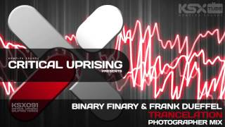 [KSX091] Binary Finary & Frank Dueffel - Trancelation (Photographer Mix)