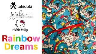 видео Сумка рюкзак для мамы Ju Ju Be BFF Rainbow Dreams