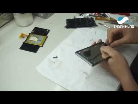 Sửa chữa màn hình điện thoại sony z2