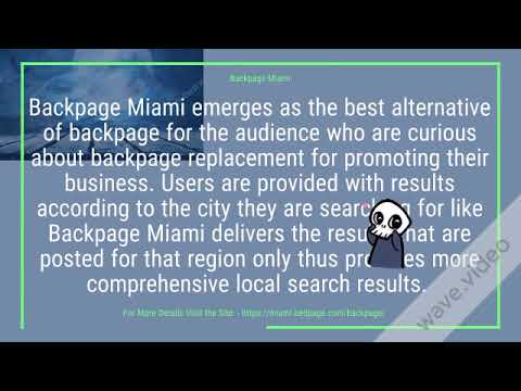 Backpage com miami florida