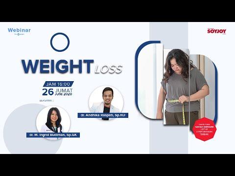 Weight Loss! Webinar Bersama Dr  Andhika Raspati,Sp KO dan Dr  Maria Ingrid Budiman, Sp GK
