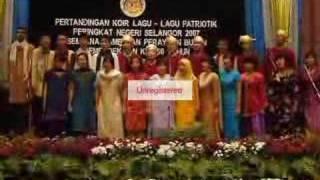 Malaysia Tanah Airku by SMKk CHOIR!!!
