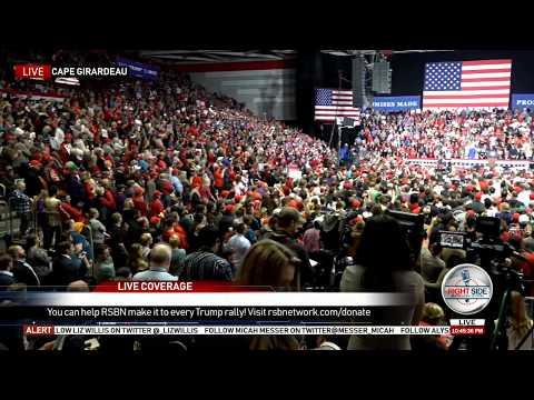 President Trump Rally- MASSIVE Crowd in Cape Girardeau, MO 11-5-18