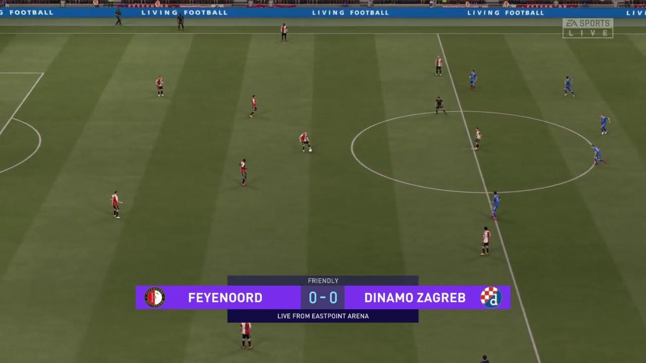 Feyenoord V Dinamo Zagreb Fifa 21 Prediction Youtube