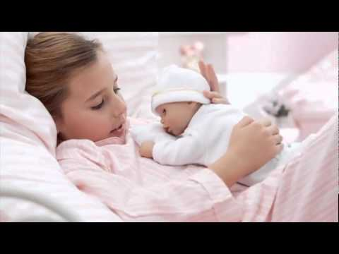 Zapf My First Baby Annabel Time To Sleep - YouTube