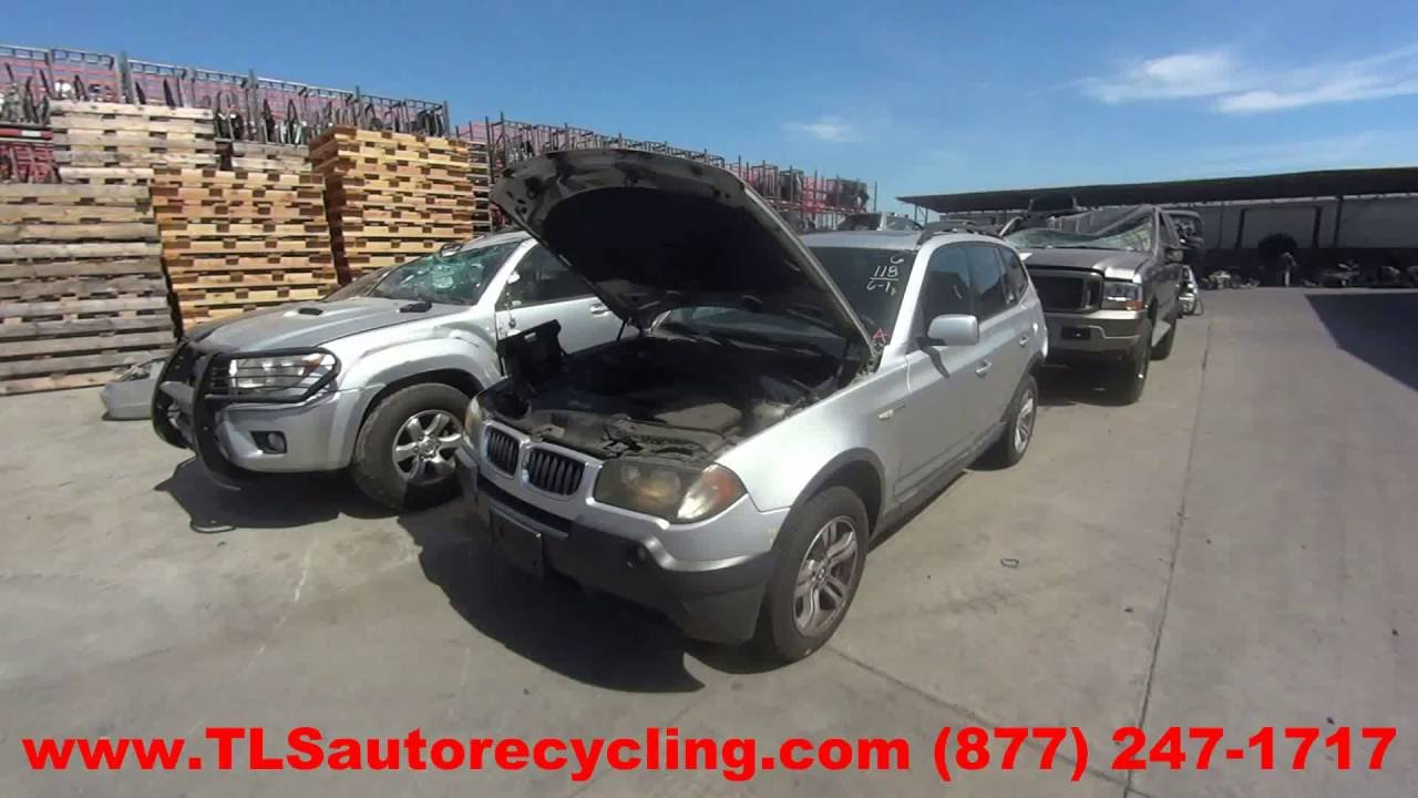 Bmw x3 parts for sale - 2004 Bmw X3 Parts For Sale 1 Year Warranty