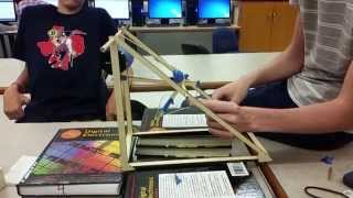 1:12 Scale Murlin Trebuchet Trials