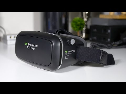 VR Shinecon virtual Reality Headset Review! $30 VR Any Good?