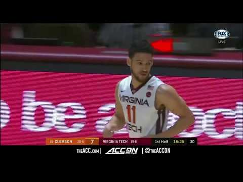Clemson vs Virginia Tech College Basketball Condensed Game 2018