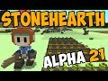 Stonehearth Alpha 21 Getting Started Again Let 39 S Play Stonehearth Gameplay mp3