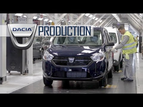 Dacia Production in Tangier, Morocco