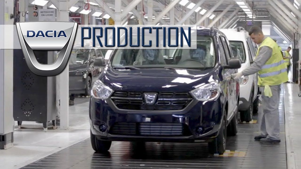 Dacia Production In Tangier Morocco Youtube