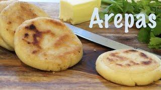 Venezuelan Arepas | The Frugal Chef