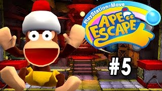 PlayStation Move Ape Escape [PT Part 5] [The Hot Springs]