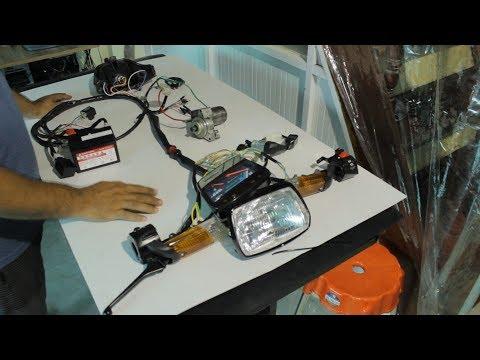 Khám Phá Xe Máy-Cơ Bản Về Hệ Thống Điện Xe Máy